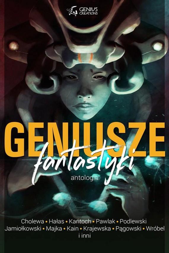 okładka Geniusze fantastyki. Ebook | EPUB, MOBI | Antologia Urodzinowa