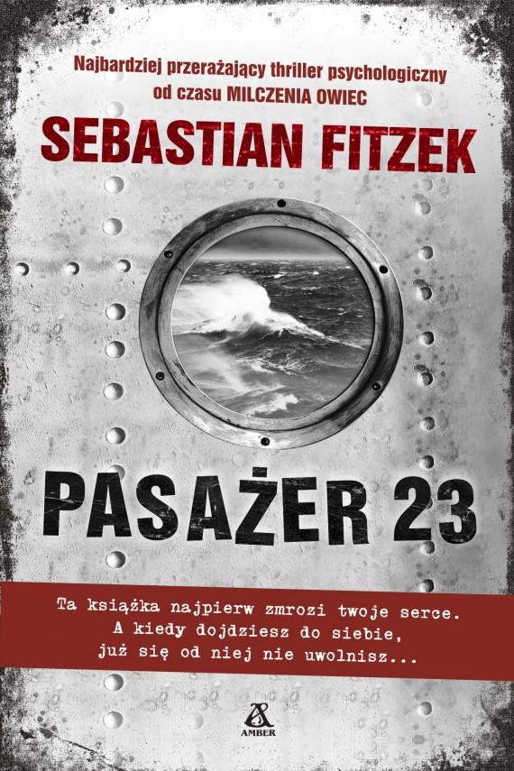 okładka Pasażer 23ebook   EPUB, MOBI   Sebastian Fitzek