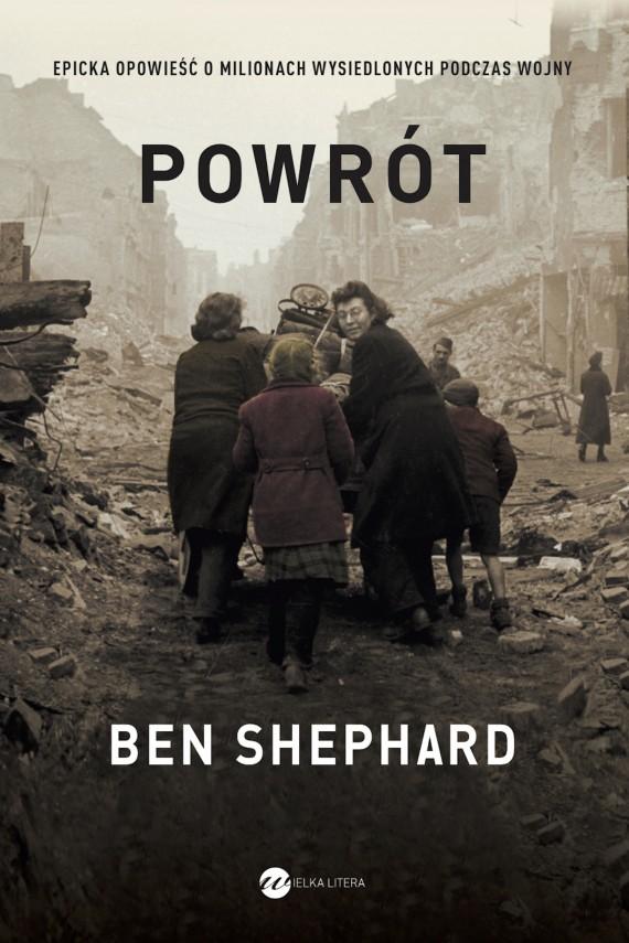 okładka Powrót. Ebook | EPUB, MOBI | Ben Shephard