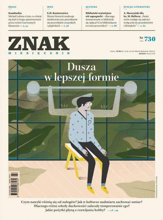 okładka ZNAK Miesięcznik nr 730 (3/2016)ebook | EPUB, MOBI | autor  zbiorowy