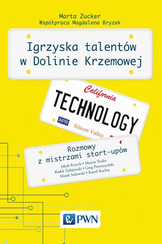okładka Igrzyska talentów w Dolinie Krzemowejebook | EPUB, MOBI | Marta  Zucker