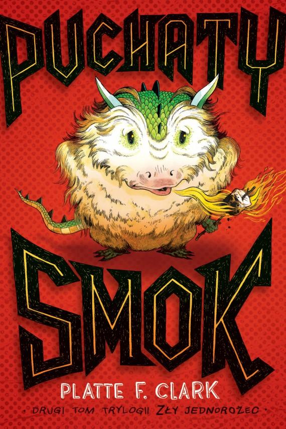 okładka Puchaty smokebook | EPUB, MOBI | Platte F. Clark, Piotr W. Cholewa