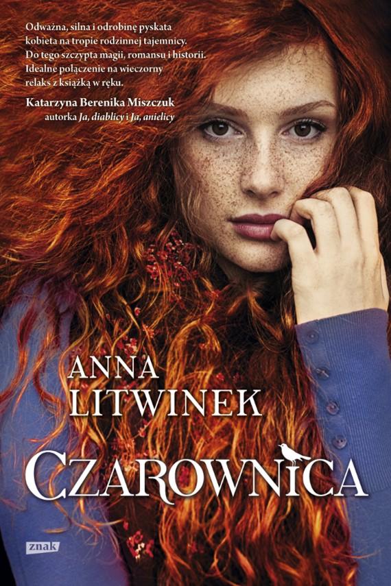 okładka Czarownicaebook   EPUB, MOBI   Anna Litwinek