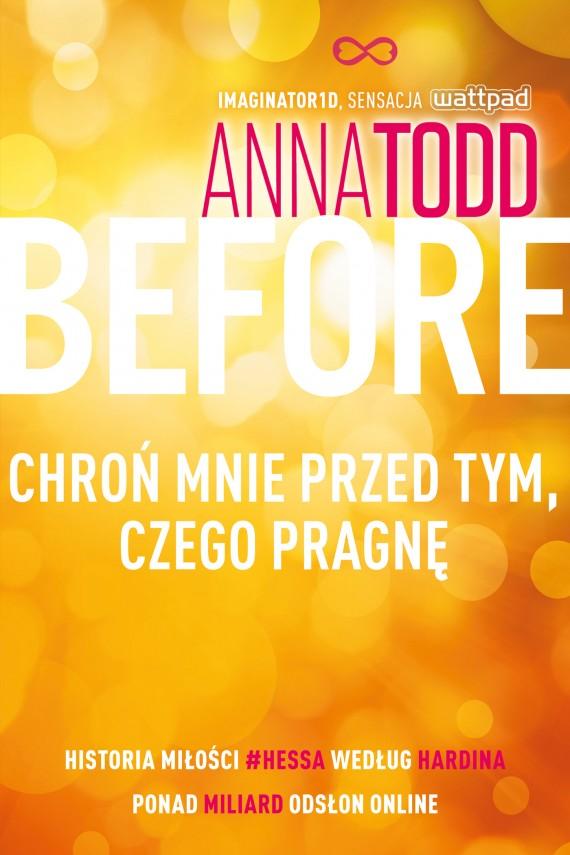 okładka Before. Chroń mnie przed tym, czego pragnęebook | EPUB, MOBI | Anna Todd