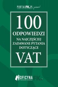 okładka 100 odpowiedzi na najczęściej zadawane pytania dotyczące VAT - stan prawny na 2016r.. Ebook | EPUB,MOBI | Praca zbiorowa