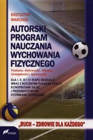 okładka Autorski program nauczania wychowania fizycznego. Ebook | PDF | Krzysztof Warchoł
