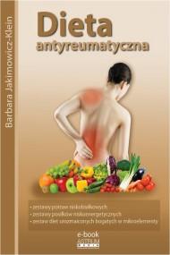 okładka Dieta antyreumatyczna. Ebook   PDF   Barbara Jakimowicz-Klein