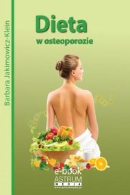 okładka Dieta w osteoporozie. Ebook   PDF   Barbara Jakimowicz-Klein
