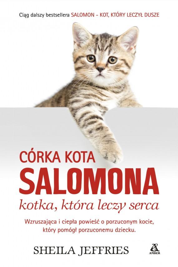 okładka Córka kota Salomona - kotka, która leczy sercaebook | EPUB, MOBI | Sheila Jeffries
