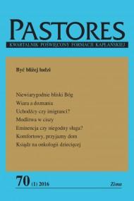 okładka Pastores 70 (1) 2016. Ebook | EPUB,MOBI | Opracowanie zbiorowe