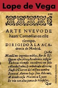 okładka Nowa sztuka pisania komedii w dzisiejszych czasach przedstawiona Akademii w Madrycie. Ebook | EPUB,MOBI | Lope de Vega