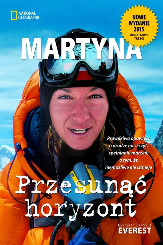 okładka Przesunąć horyzontebook   EPUB, MOBI   Martyna Wojciechowska