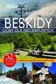 okładka Beskidy. Góry dla niecierpliwych. Ebook | EPUB,MOBI | Dariusz Jędrzejewski