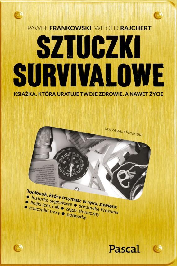 okładka Sztuczki survivaloweebook | EPUB, MOBI | Paweł  Frankowski, Witold  Rajchert