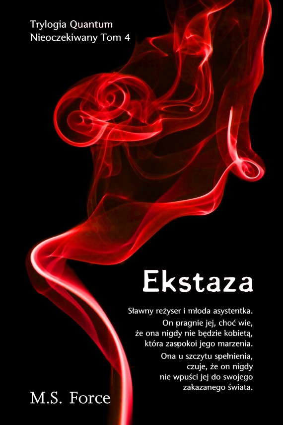 okładka Ekstaza. Ebook | EPUB, MOBI | M.S. Force
