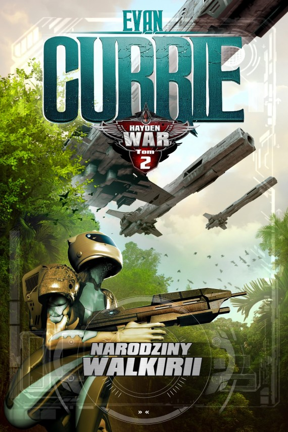 okładka Hayden War. Tom 2. Narodziny Walkirii. Ebook | EPUB, MOBI | Evan Currie