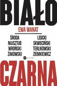 okładka Biało-czarna. Ebook | EPUB,MOBI | Ewa Wanat