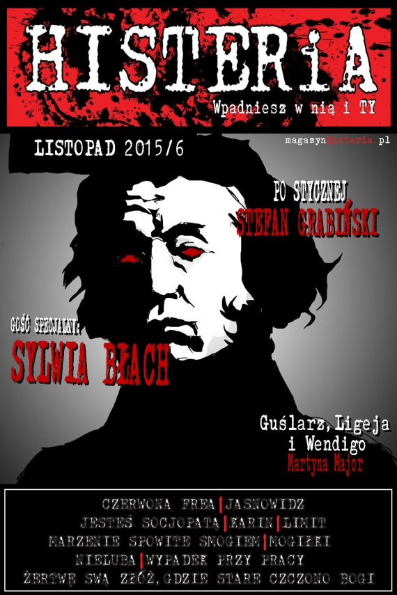 okładka Magazyn Histeria 2015/6ebook | EPUB, MOBI | autor  zbiorowy