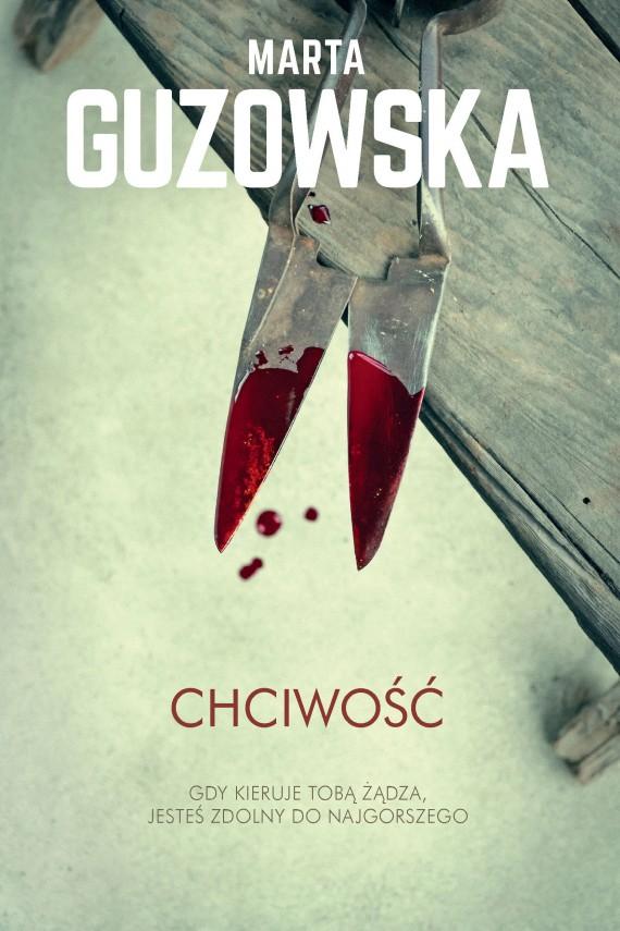 okładka Chciwośćebook | EPUB, MOBI | Marta Guzowska