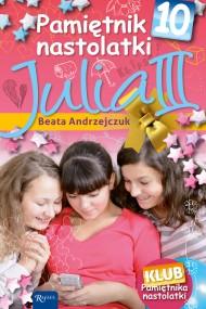 okładka Pamiętnik nastolatki 10. Julia III. Ebook | EPUB,MOBI | Beata Andrzejczuk