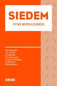 okładka Siedem  pytań współczesności (minibook). Ebook | EPUB,MOBI | autor  zbiorowy