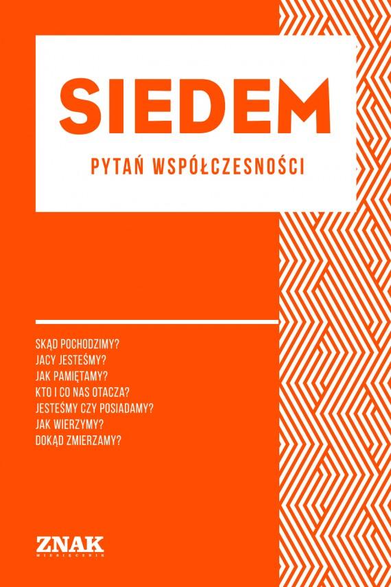 okładka Siedem  pytań współczesności (minibook)ebook | EPUB, MOBI | autor  zbiorowy
