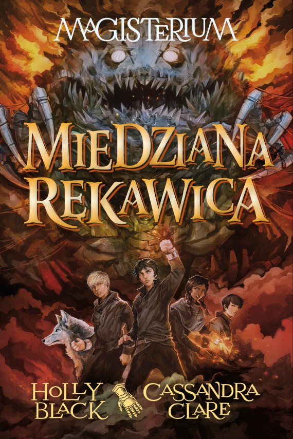 okładka Magisterium II: Miedziana rękawica. Ebook | EPUB, MOBI | Cassandra Clare, Holly Black, Robert Waliś