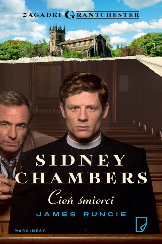 okładka Sidney Chambers. Cień śmierciebook | EPUB, MOBI | James Runcie