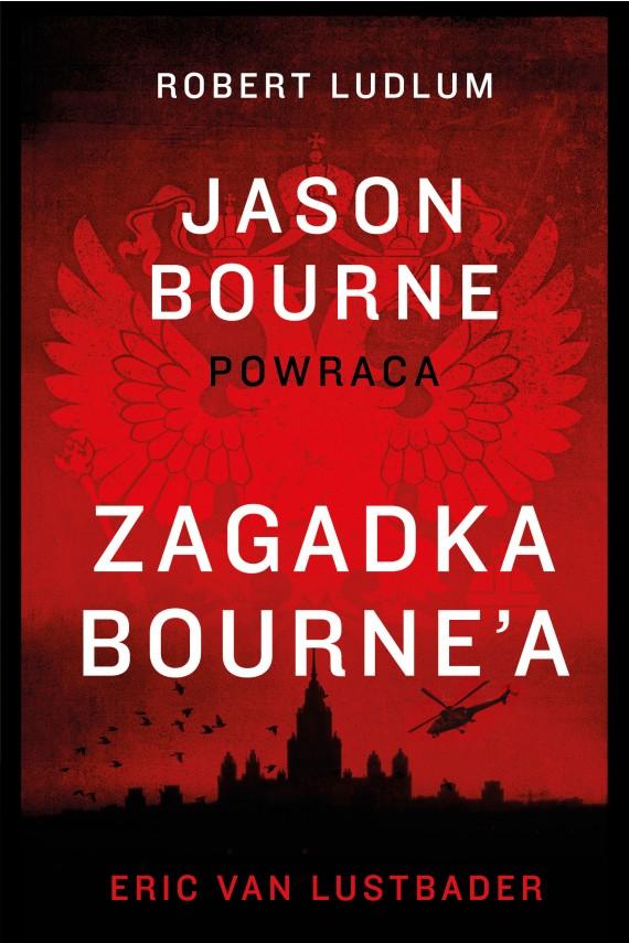 okładka Zagadka Bourne'aebook | EPUB, MOBI | Eric Van Lustbader