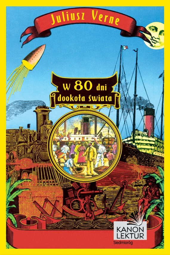 okładka W 80 dni dookoła świata. Ebook | EPUB, MOBI | Juliusz Verne