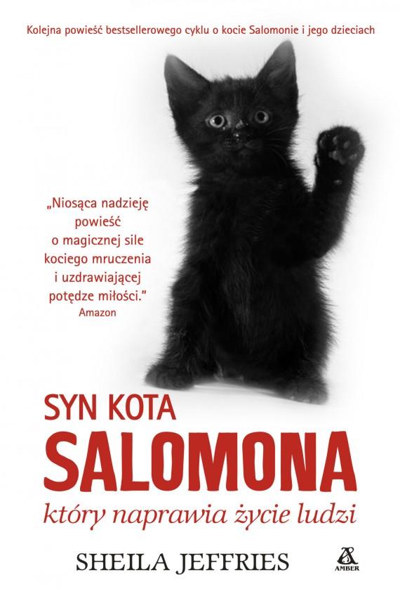 okładka Syn kota Salomona, który naprawia życie ludziebook   EPUB, MOBI   Sheila Jeffries
