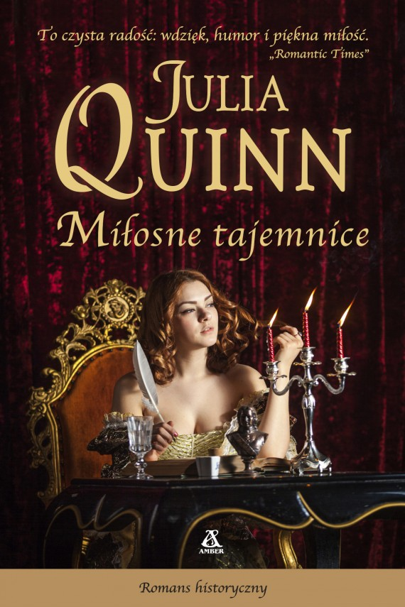okładka Miłosne tajemnice. Ebook | EPUB, MOBI | Julia Quinn