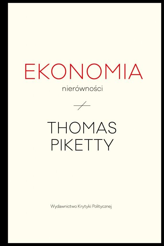 okładka Ekonomia nierównościebook   EPUB, MOBI   Thomas Piketty