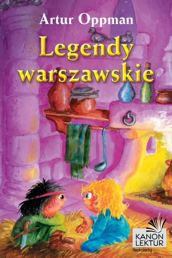 okładka Legendy warszawskieebook | EPUB, MOBI | Artur Oppman