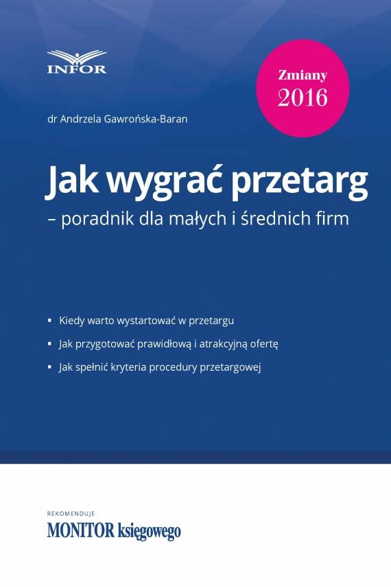okładka Jak wygrać przetarg – poradnik dla małych i średnich firm. Ebook | PDF | Andrzela  Gawrońska-Baran