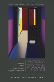 okładka Panorama współczesnej filozofii. Ebook   Jacek  Hołówka, Bogdan  Dziobkowski