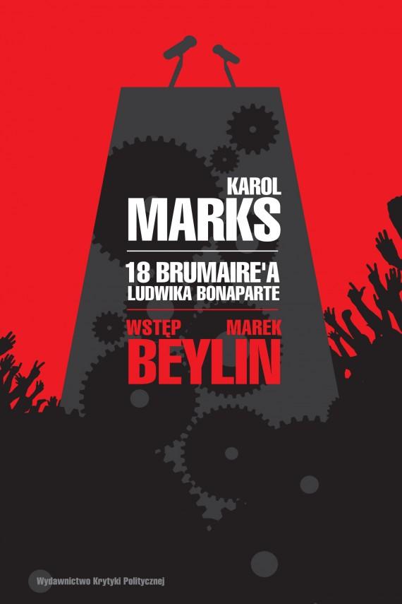 okładka 18 brumaire'a Ludwika Bonaparteebook | EPUB, MOBI | Karol  Marks