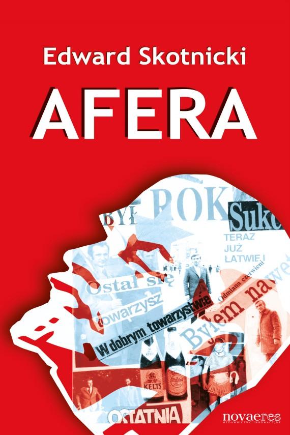 okładka Afera. Ebook | EPUB, MOBI | Edward Skotnicki