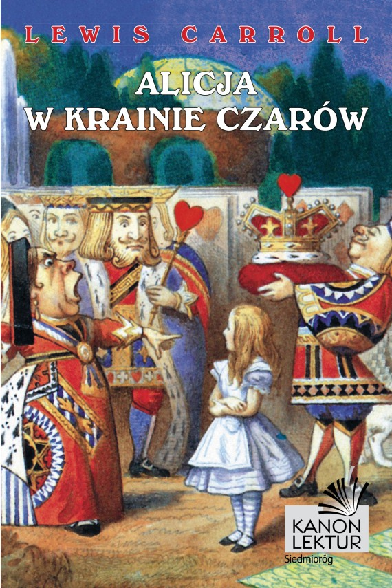 okładka Alicja w krainie czarów. Ebook | EPUB, MOBI | Lewis Caroll