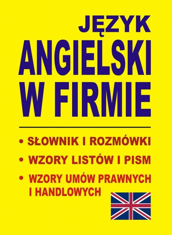 okładka Język angielski w firmieebook   PDF   Jacek  Gordon