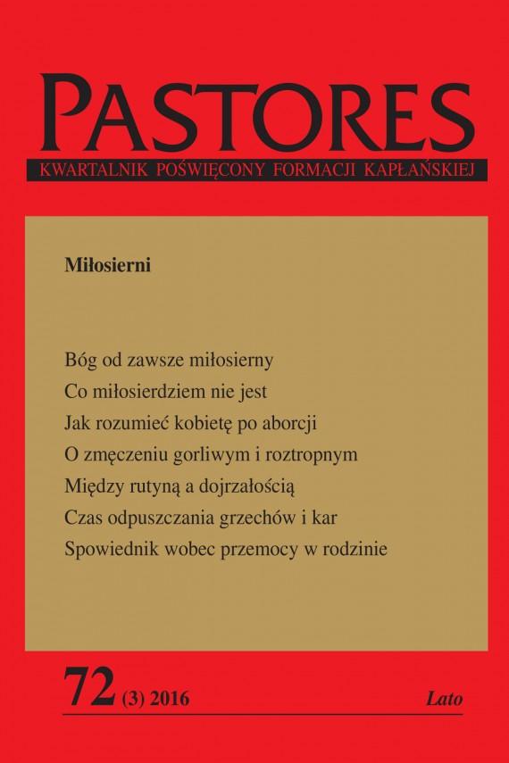 okładka Pastores 72 (3) 2016ebook   EPUB, MOBI   Zespół Redakcyjny