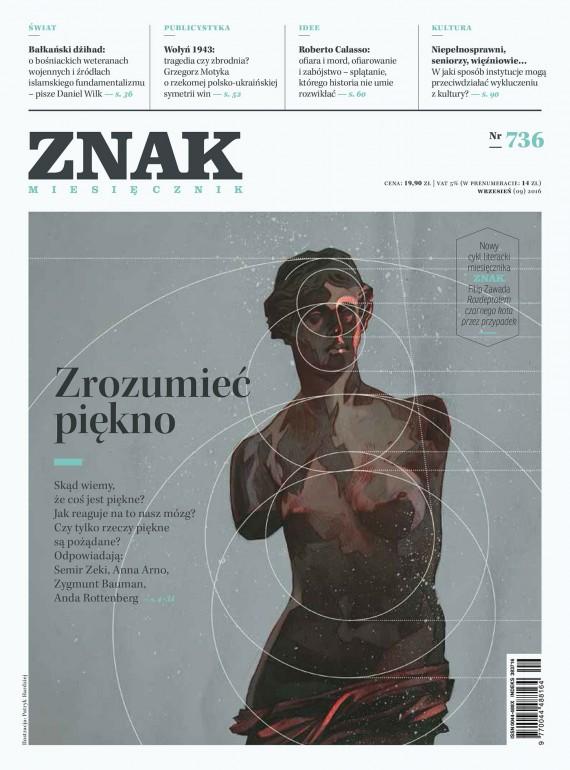 okładka ZNAK Miesięcznik nr 736: Zrozumieć piękno. Ebook | EPUB, MOBI | autor  zbiorowy