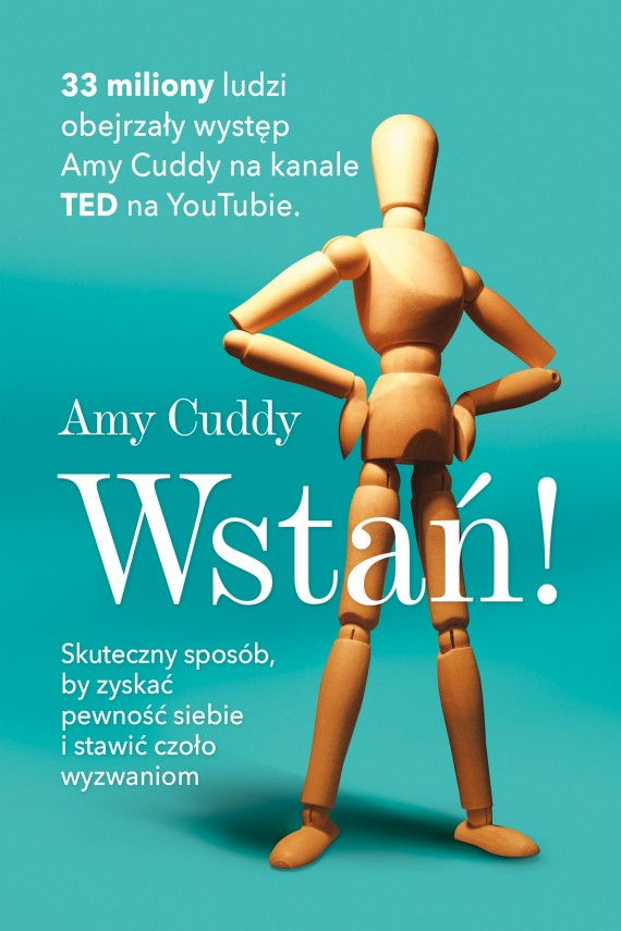okładka Wstań!. Ebook   EPUB, MOBI   Amy Cuddy