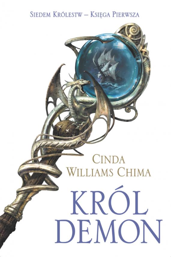 okładka Król Demonebook | EPUB, MOBI | Dorota Dziewońska, Cinda Williams Chima