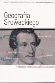 okładka Geografia Słowackiego. Ebook | PDF | Dorota  Siwicka, Marta  Zielińska
