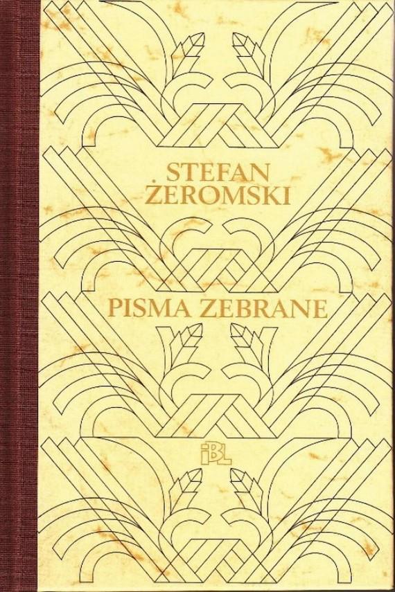okładka Pisma zebraneebook   PDF   Stefan Żeromski