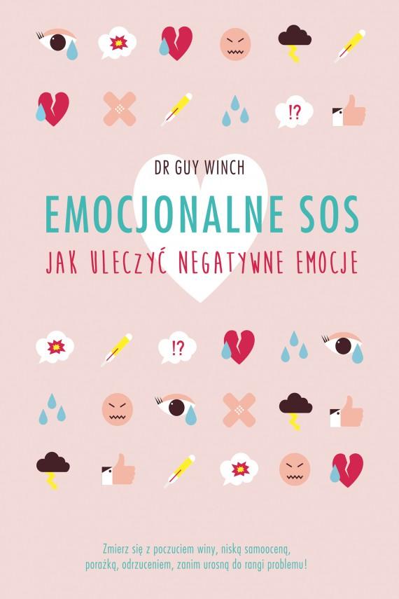 okładka Emocjonalne SOSebook | EPUB, MOBI | Guy Winch, Katarzyna Mojkowska