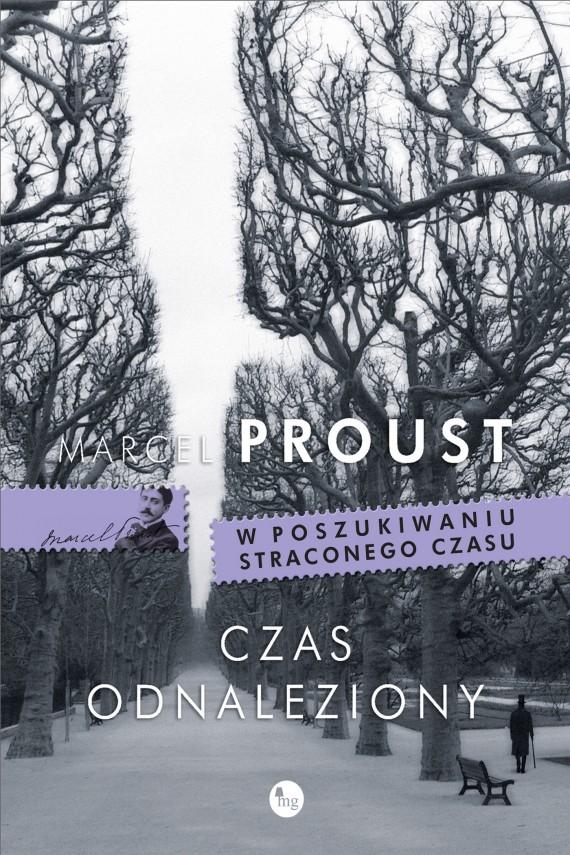 okładka Czas odnaleziony. Ebook | EPUB, MOBI | Marcel Proust