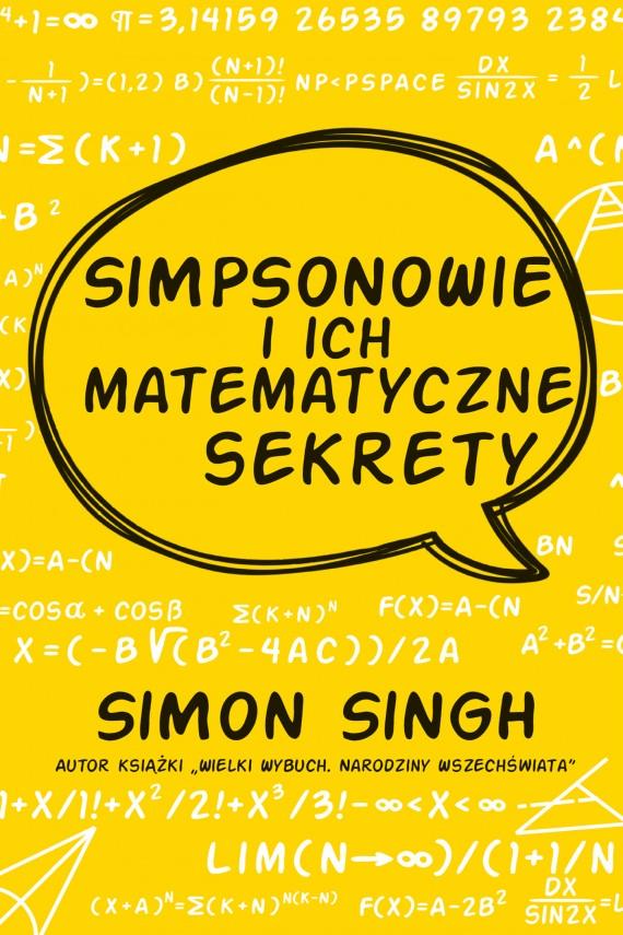 okładka Simpsonowie i ich matematyczne sekrety. Ebook | EPUB, MOBI | Simon Singh, Anna Binder