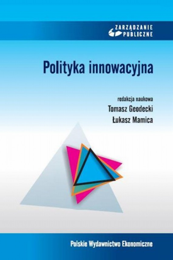 okładka Polityka innowacyjna. Ebook | PDF | Tomasz  Godecki